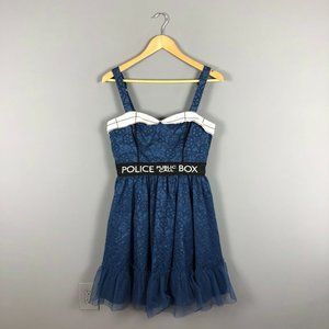 Doctor Who BBC Police Box Tardis Dress